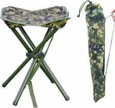 Portable Folding Stool For Camping Hiking Lightweight Outdoor Square Slack Chair