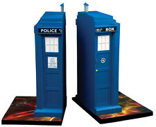 "DOCTOR WHO - Tardis 8.5"" Polyresin Bookends Set (2) by Ikon Collectables #NEW"
