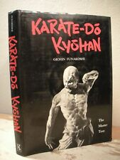 KARATE DO KYOSHAN Funakoshi 1973 HC/DJ 1st 19 Kata Martial Arts Self Defense