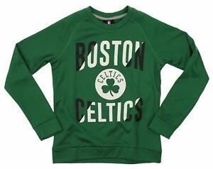 Outerstuff NBA Youth/Kids Boston Celtics Performance Fleece Crew Neck Sweatshirt