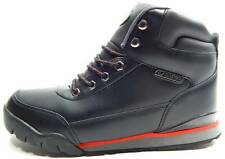 NEW LUGZ EXCURSION BOOT size 8 BLACK RED Casual Trail Hiking Shoes Boots