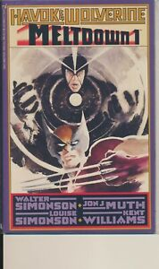 The Havok & Wolverine - Meltdown #1 Comic Book - Epic Comics
