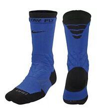 Blue and Black Men's XL 12-15 Nike Vapor Cushioned  Football Socks Retail $22