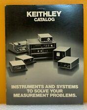 Keithley Instruments 1976 Catalog
