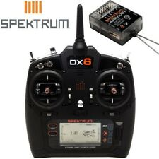NEW Spektrum Radio Transmitter DX6 6-Channel Gen 3 DSMX w/AR6600T Receiver SP...