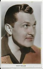 LOVELY RARE MOVIE STAR, POSTCARD,ACTOR,KENT TAYLOR,RP