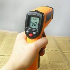 Non-Contact Digital Gun Type IR Infrared Laser Thermometer Temperature Meter