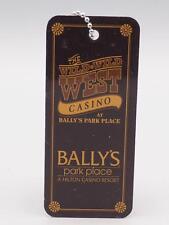 Wild Wild West Casino at Bally's Park Place Casino VIP Key Ring Fob