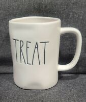 RAE DUNN ARTISAN COLLECTION MAGENTA LARGE LETTER TREAT IVORY MUG CUP NEW GLOSSY
