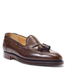 RALPH LAUREN C&J Marlow Cordovan Leather Tassel Loafers Shoes 10 England $900