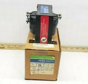 NEW HEVI-DUTY .250 KVA CONTROL CIRCUIT TRANSFORMER 240/480 HV 120 LV Y250