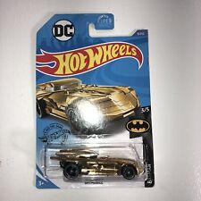 Hot Wheels - Gold Batmobile - New Sealed