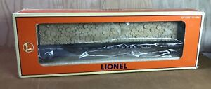 LIONEL SOUTHERN BULKHEAD FLAT CAR with SIMULATED WOOD LOAD #6-16951