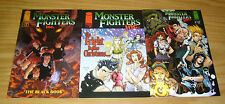 Monster Fighters Inc. set of (3) VF/NM complete series - black book - christmas