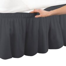 1 PC Wrap Around Bed Skirt 1000 TC Soft Egyptian Cotton Full XL Size All Colors