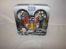 Disney Mickey Mouse 80 years Pez Dispensers with Mikey Mouse Poster SEALED