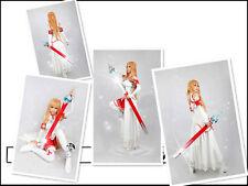 Sword Art Online Asuna Yuuki Fancy Dress Cosplay Costume