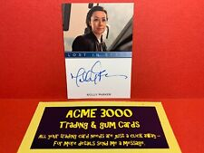 Lost in Space SEASON 1 - NORMAL AUTOGRAPH Card MOLLY PARKER as Maureen Robinson