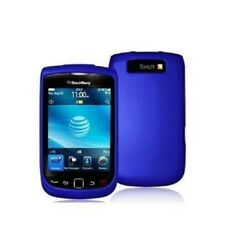 Hard Rubberized Case Cover for Blackberry Torch 9800/9810 - Blue