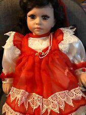 "Lloyd Middleton ""Serena"" Doll :Cheri MacAfooes - Christmas - Limited Edition Euc"