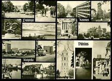 LITHUANIA 1967 PPCs 4 CARDS..VILNIUS KAUNAS KLAIPEDA PALANGA