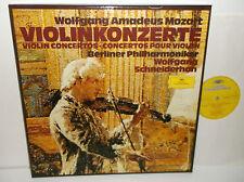 2740 116 Mozart Violin Concertos Wolgang Schneiderhan  3LP Box Set
