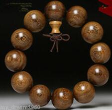Big 20mm Wood Beads Tibet Buddhist Prayer Bracelet Mala