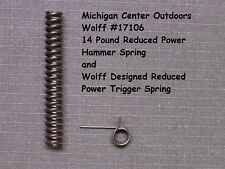 Wolff REDUCED POWER SPRING KIT for Ruger Security & Speed Six Service Six W17106