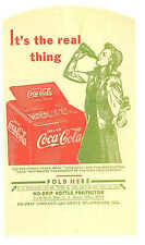 3 Coca Cola Lady by Cooler Advertising No Drips Coke Dry Server No Drip Vintage