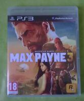 MAX Payne 3 - jeu vidéo pour playstation 3  - comme neuf