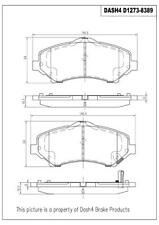 Disc Brake Pad Set-PREMIUM CERAMIC PADS Front Dash 4 Brake CFD1273