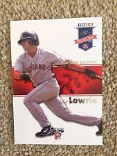 +++ Jed Lowrie 2008 Tristar béisbol tarjeta #56 - Boston Red Sox/Mar perros +++
