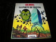 Eddy Paape / Greg : Luc Orient 12 : La porte de cristal EO Lombard 1977 couvert