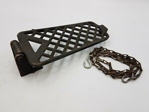 Vintage Industrial Cast Iron Foot Pedal Treadle Steampunk Decoration Farmhouse