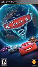 Cars 2 Disney Pixar NEW factory sealed black label PSP PlayStation Portable