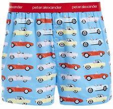 Peter Alexander PJs Mens Boxer Shorts Vintage Retro Cars S/m/l/xl Cotton PJ XL