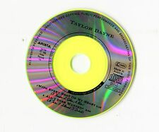 TaylorDayne 3-INCH-cd-single WITH EVERY BEAT OF MY HEART © 1989 - no cover 2-tr