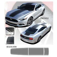 """Median"" Ford Mustang '15-17 no XM Graphic Kit - Metallic Silver"