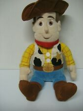 """DISNEYS TOY STORY"""" WOODY"""" plush figure 14 inches from kohls dept. store"""