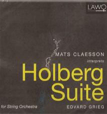 Mats Claesson - Grieg : Holberg Suite (CD) NEW/SEALED