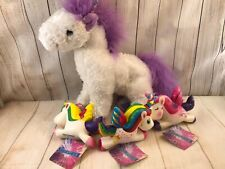 "Melissa and Doug plush unicorn 10"" (AL)"