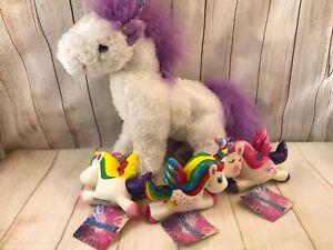 "Melissa and Doug plush unicorn 10"" (AL)"