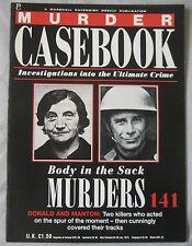 Murder Casebook Issue 141 - Body in the Sack Murders, Donald & Manton