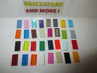 Lego - Tile Plate Plaque Lisse 1x2 3069 -Choose Color and Quantity x2 x4 x10 x20
