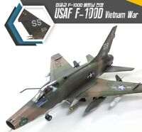 "Academy 1/72 USAF F-100D ""Vietnam War"" Edition Military Plastic Scale Model Kit"