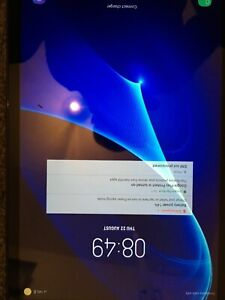 """Samsung Galaxy Tab A6 SM-T585 10.1"""" 16GB 8MP Cam Android For Spares Working"""