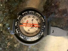Scuba Diving Compass with wrist mount