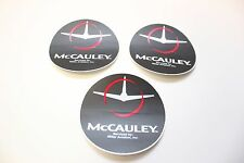 McCauley Aircraft Prop. Decals. 3 PCS.