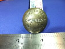 vtg badge g brothwell wragby makers brass engineers engine foundry ? works 1800s