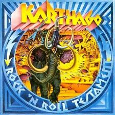 KARTHAGO: Rock 'n roll testament (1975) Long Hair LP LHC 117 with gimmick cover